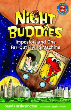 The World of Ink Network: Book Series Spotlight: Night Buddies by Sands Hetherington