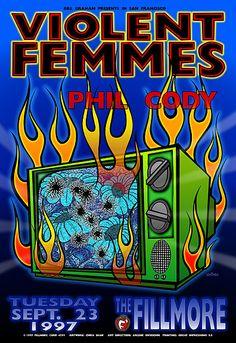 Violent Femmes - Phil Cody (Chris Shaw, Poster Designer)