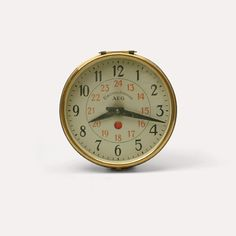 Synchron Wall Clock, designed circa 1910 by Peter BEHRENS for AEG.