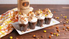 Reese's Cup Pudding Shots - Delish.com