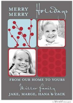 Photo Cards and Holiday Photo Invitations