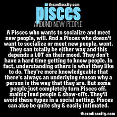 zodiac astrology pisces piscestrait pisces facts • Not really easily intimidated!