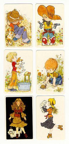 swapcards Sarah Kay, Cute Sketches, Cute Drawings, Mary May, Decoupage, Susan Wheeler, Vintage Drawing, Holly Hobbie, Hobbies And Crafts