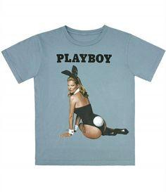 La playmate Kate Moss s'empare des tee-shirts Marc Jacobs !