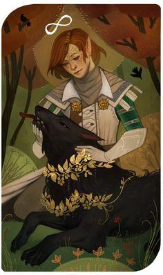 Elf-Inquisitor for dalish-loser C: Katiaria Dragon Age Origins, Dragon Age Inquisition, Fantasy Inspiration, Character Inspiration, Character Art, Character Design, Dragon Age Games, Dragon Age 2, Tag Art