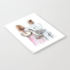 Street style girls Notebook by martadehojas Notebook, Street Style, Shopping, Urban Style, Notebooks, Street Style Fashion, Street Styles, Exercise Book, The Notebook