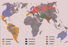 Χάρτης γλωσσών
