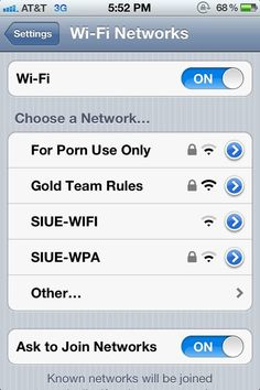 This purposeful Wi-Fi. | Community Post: 19 Ridiculous Wi-Fi Names That Have Been Spotted In The Wild