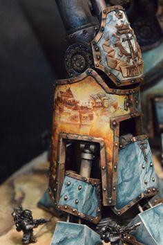 Awesome titans Warhammer Figures, Warhammer 40k Figures, Warhammer 40k Miniatures, Warhammer Models, Warhammer 40000, Imperial Knight, Grey Knights, Fantasy Model, Fantasy Battle