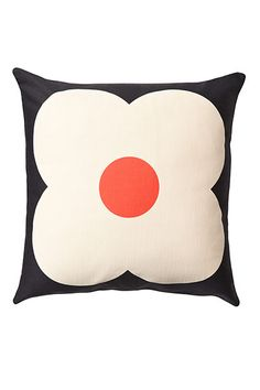 Credit: PR Giant abacus cushion in slate blue/red, £39, by Orla Kiely House, from Bliss Home