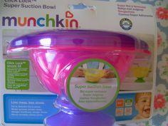 Munchkin Click Lock Suction Bowl