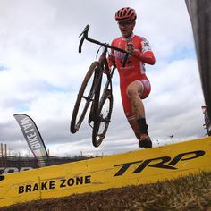 Brian Vernor/ The pride of Santa Cruz Cyclocross Tobin Ortenblad/ is our National Champion. by bicyclingmag Bicycling Magazine, Pro Cycling, Mtb, Athletes, Champion, Pride, Bicycle, Superhero, Santa Cruz