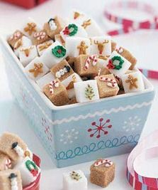 Candy Cane Sugar Cubes Recipe