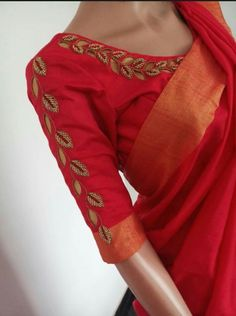 We don't sell any products. If you like this post pl save it and tag your friends . DM for credits - SalvabraniWhatsapp on 9496803123 to customiseBasic Cutwork Tutorial For Beginners Simple Embroidery Designs, Simple Blouse Designs, Stylish Blouse Design, Pattu Saree Blouse Designs, Blouse Designs Silk, Designer Blouse Patterns, Embroidered Blouse, Aari Work Blouse, Dresses