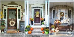 We've rounded up 15 of the best Christmas porch ideas to give you plenty of ideas to help with your holiday decorating!