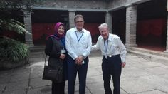 Alan L. MacLachlan, class of '51, visited us recently!  #KISAlumni