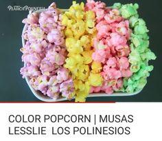Esta pipoca de color popcorn son ricas y deliciosas. @ 🎂
