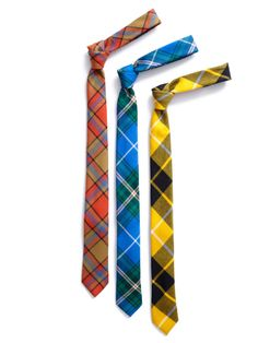 I like plaid ties for dressing up/down.