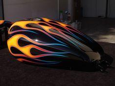 Custom Motorcycle Paint Jobs, Custom Motorcycles, Pearl Paint, Candy Paint, Pinstriping, Car Painting, Custom Cars, Stevie Ray, Street Glide