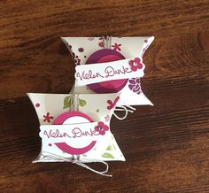 Vera's Paperdesign: Pillowbox