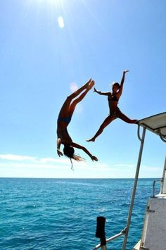 Fun in the sun with your bestie is the best feeling | Visit www.clubwearcentral.com for the hottest yacht party bikinis. #boatonlakesummer #yachtparty