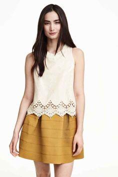 Blusa bordada | H&M