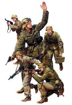 Imagen Uniformes Militares, Imágenes Militares, Fuerzas Armadas, Soldados De Guerra, Tropas, Guerra Moderna, Fotos Guays, Ejercito Alemán, Infanteria
