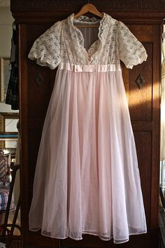 Vintage Pink Peignoir Set I Love Lucy by ObjectsbyEchoes on Etsy, $75.00