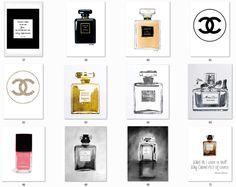 My Sims 4 Blog: Chanel Prints by Viikiita