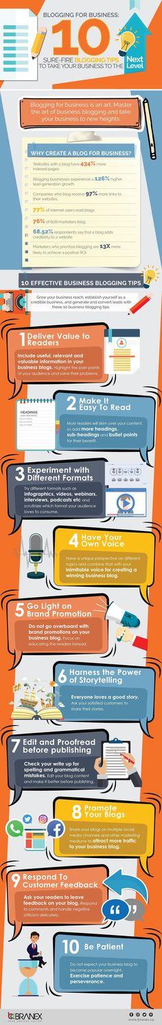 #Blogging para negocios: 10 consejos para llevar tu estrategia al siguiente nivel