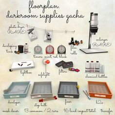 THE ARCADE - floorplan. darkroom supplies | Flickr - Photo Sharing!