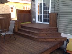 Getting The Most Out Of A Deck With Patio Designs – Pool Landscape Ideas Patio Plans, Wood Patio, Deck Patio, Patio Roof, Porch Steps, Building A Porch, Deck Stairs, House Deck, Backyard Patio Designs