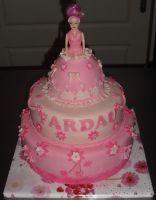 Een prinsessentaart voor een prinses. - Pies of Keek