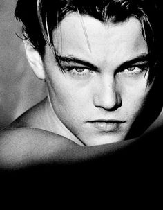 what could be better than a young Leonardo Dicaprio? fell in love the first time I watched Titanic