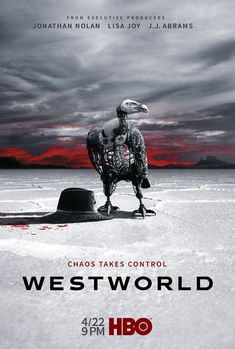 Chaos takes control on the poster for Westworld's second season. Based on Michael Crichton's 1973 film of the same name, the acclaimed sci-fi drama returns to HBO on April 22 at 9pm.