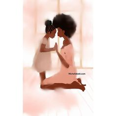 Likes, 35 Comments - Nicholle Kobi Black Love Art, Black Girl Art, My Black Is Beautiful, Black Girls Rock, Black Girl Magic, Art Girl, African American Art, African Art, Black Art Pictures