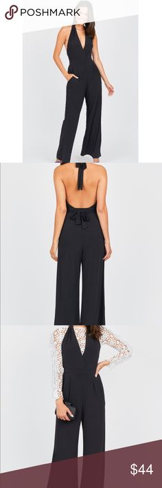 NWT Olivia Culpo Open Back Jumpsuit NWT. Super chic and perfect for a night out, can also be dressed down for daytime wear! Olivia Culpo Pants Jumpsuits & Rompers