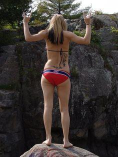 Sexy Habs bikini