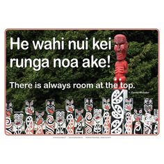 Set of 8 beautifully photographed, inspirational posters of Aotearoa icons. English and Maori phrases on each poster