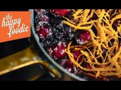 Cranberry, Port and Orange Sauce - The Happy Foodie