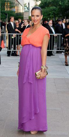 76f0981f8be Jessica Alba. Celebrity Maternity StyleStylish ...