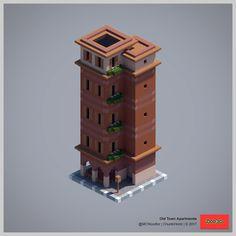 2017 ChunkWorld (Redux) - Old Town apartments