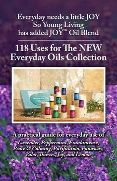 118 Uses for the NEW Everyday Oils Collection from Young Living