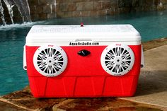 Aquatic Audio : Custom Radio Coolers & Ice-Chest Stereos : Bring the Party With You