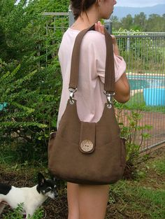 "Handbag Sewing Pattern - PDF- ""Bella"" by ChrisW Designs"