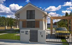 Typový dům Le Corba od APEX ARCH s.r.o. Shed, Outdoor Structures, Outdoor Decor, Home Decor, Decoration Home, Room Decor, Home Interior Design, Barns, Sheds