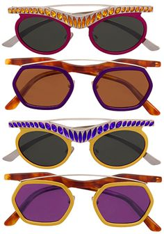 Prada Fall 2012 Sunglasses.  AKA the collection that makes you appear angry with the world...and especially your optician.