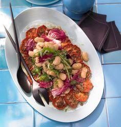 Rezept: Mediterraner Tomatensalat - [LIVING AT HOME]