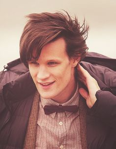 Matt Smith. I absolutely refuse to believe that he is actually leaving at Christmas...:(