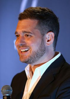 Michael Buble - Michael Buble Press Conference. Soooo  handsome xxxxxxx